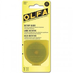 Olfa Rotary Cutting Blades - 45mm