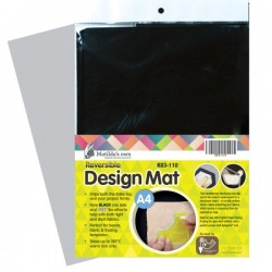 Matilda's Own-Design Mat-Black-A4