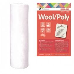 Matilda's Batting Wool/Poly 60/40 - 2.4mx30m Roll