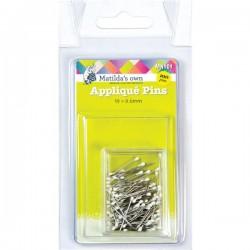 Applique Pins - 19mmx.6mm (100)