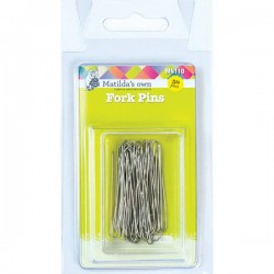 Fork Patchwork Pins - 40mm (50)