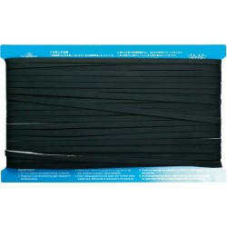 Fusible Bias Tape - Black - 6mmx50m