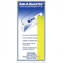 Add A Quarter Ruler - 6""