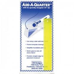 """Add A Quarter Ruler - 6"""""""
