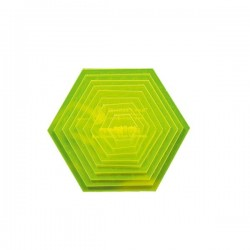 "Hexagon Set (S) - 1""-5"" (9)"