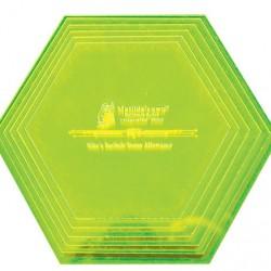 """Hexagon Set (L) - 5.5""""-8"""" (6)"""