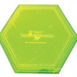 "Hexagon set (XL) - 8.5""-10.5"" (5)"