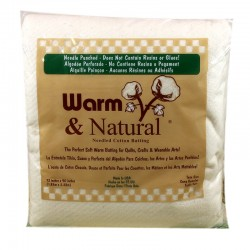 WARM & NATURAL-TWIN BATTING