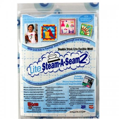LITE-Steam-A-Seam2 5 SHEET PACK