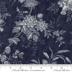 "108"" Floral Toile Backing - MIDNIGHT"