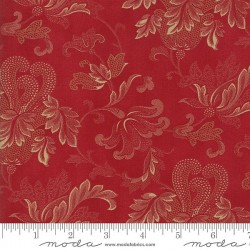 "108"" Flourish Backing - CHERRY"