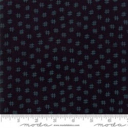 "108"" Muslin Mates Backing Hashtag- MIDNIGHT"
