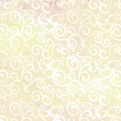 "108"" Ombre Scroll Backing  - ECRU"