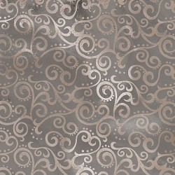 "108"" Ombre Scroll Backing  - STONE"
