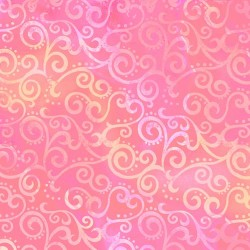 "108"" Ombre Scroll Backing - PINK"