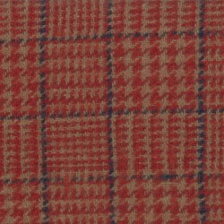 """WOOL 100% - 54"""" wide - Trail Red"""