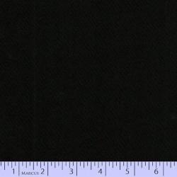 """Wool 100% - 44""""/45"""" wide - JET BLACK"""