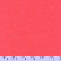 "Wool 100% - 44""/45"" wide - CANDY CORAL"