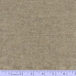 "Wool 100% - 44""/45"" wide - FLAX HEATHER"